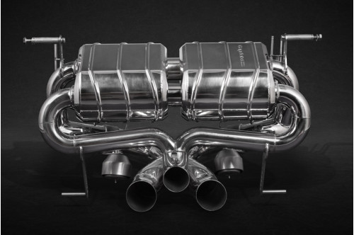 Capristo Sportowy układ wydechowy z klapami Aventador S