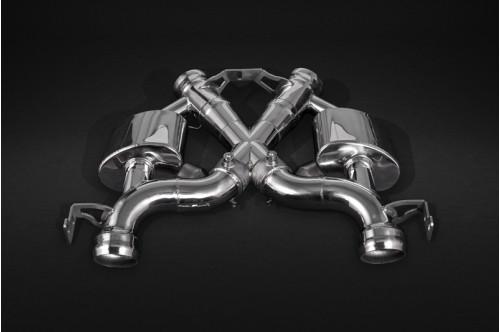 Capristo Sportowy układ wydechowy z klapami 675LT