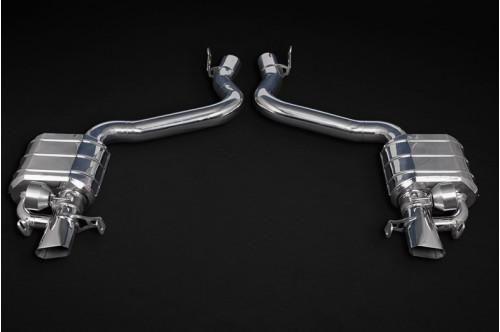 Capristo Sportowy układ wydechowy z klapami GT 63 X290