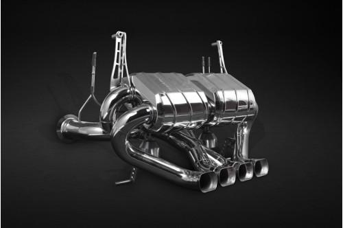 Capristo Sportowy układ wydechowy z klapami Aventador