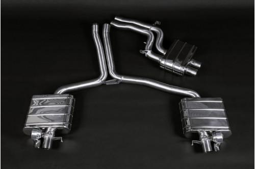 Capristo Sportowy układ wydechowy z klapami RS4 B8