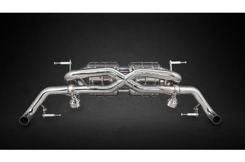 Capristo Sportowy układ wydechowy z klapami R8 V10, Plus, GT i LMX