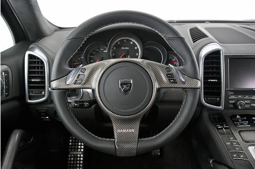 Hamann Sportowa kierownica Cayenne 958