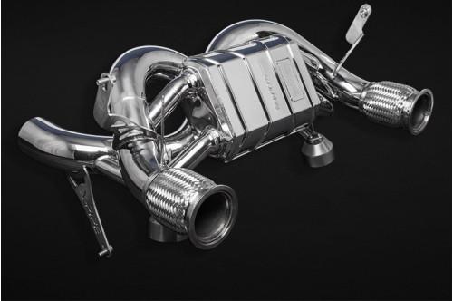Capristo Sportowy układ wydechowy z klapami Huracan Performante