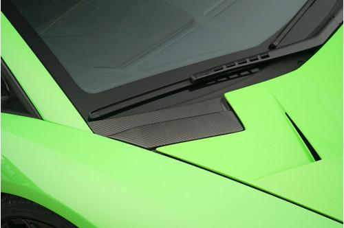 Novitec Wloty powietrza w masce Aventador SVJ