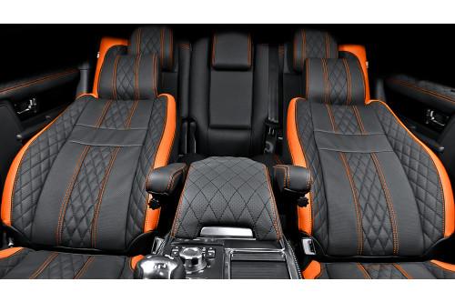 Kahn Skórzana tapicerka Vesuvius Range Rover Sport 2009