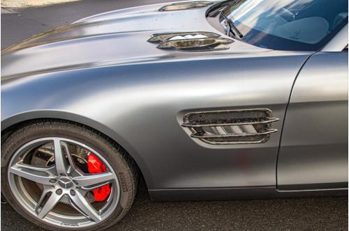 Capristo Wloty powietrza w nadkolach AMG GT