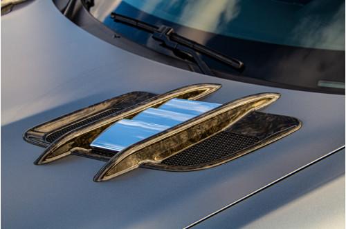 Capristo Wloty powietrza w masce AMG GT