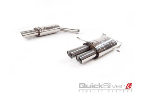 QuickSilver Sportowy tłumik tylny M6 E63 i E64