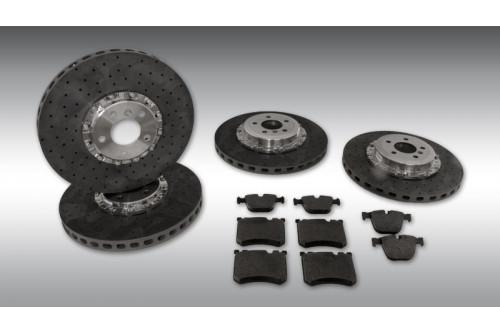 Novitec Węglowo-ceramiczny układ hamulcowy Model X
