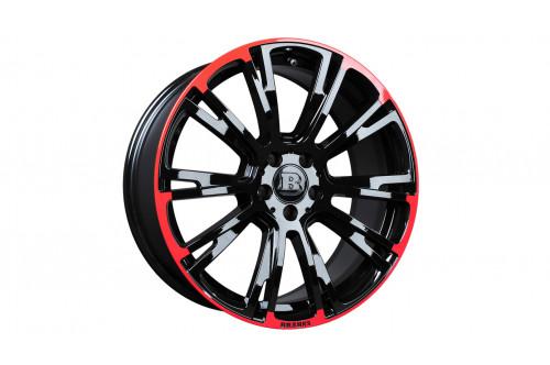 "Brabus Felga Monoblock R Red/Black 19"" S W223 i V223"