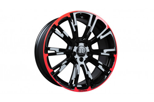 "Brabus Felga Monoblock R Red/Black 19"" S W222 i V222"