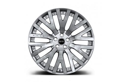 """Kahn Zestaw felg RS-2 Brushed Aluminium 23"""" Range Rover 2013"""