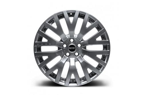 """Kahn Zestaw felg RS-2 Silver 22"""" Range Rover 2013"""