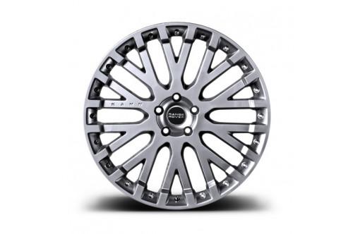 """Kahn Zestaw felg RS-X Silver 22"""" Range Rover Sport 2009"""