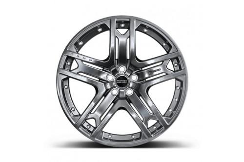 "Kahn Zestaw felg RS 600 Dark Liquid Silver 23"" Range Rover 2013"