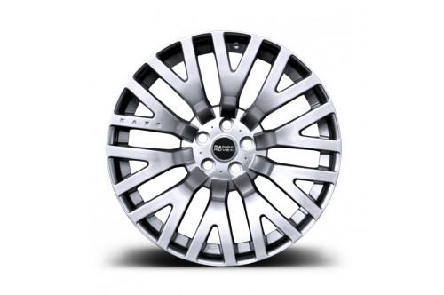 """Kahn Zestaw felg RS Silver 22"""" Range Rover Sport 2009"""
