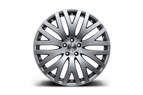"""Kahn Zestaw felg RS-XF Silver 22"""" Range Rover Sport 2009"""