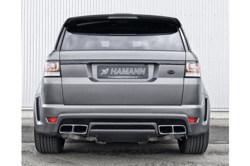 Hamann Sportowy tłumik tylny Range Rover Sport 2013