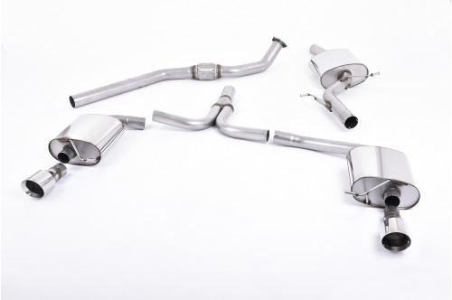 Milltek Sportowy układ wydechowy A5 8T