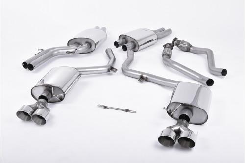 Milltek Sportowy układ wydechowy S4 B8