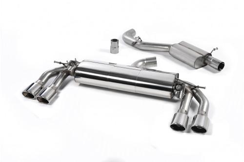 Milltek Sportowy układ wydechowy z klapami TTS 8S