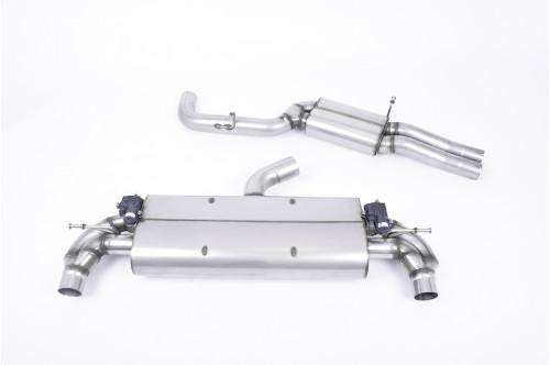 Milltek Sportowy układ wydechowy z klapami TT-RS 8S