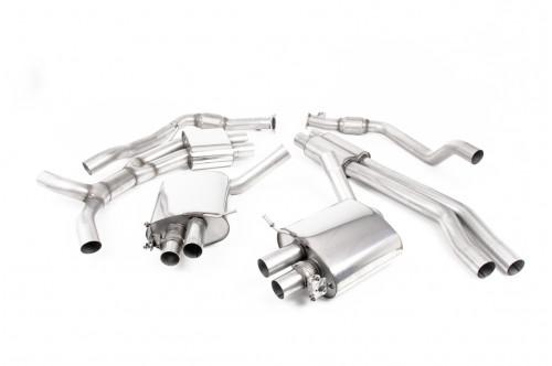 Milltek Sportowy układ wydechowy z klapami RS4 B9