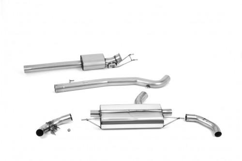 Milltek Sportowy układ wydechowy z klapami CLA 45 AMG C118 i X118