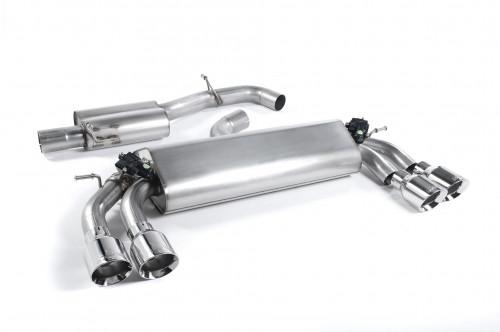 Milltek Sportowy układ wydechowy z klapami Golf VII R