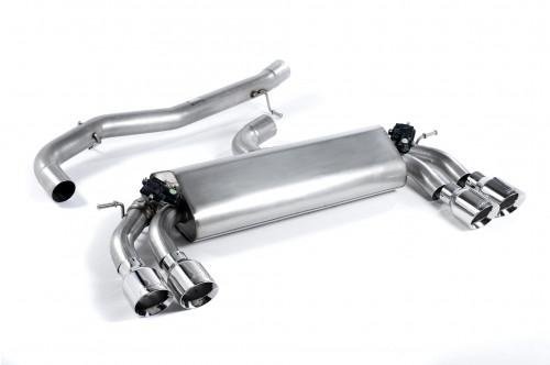 Milltek Sportowy układ wydechowy z klapami Golf VII R GPF
