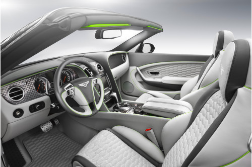 Startech Skórzane wnętrze Continental GT, GTC 2016