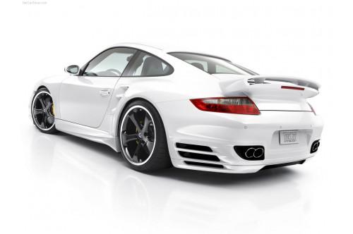 TechArt Tylny dyfuzor 911 997 Turbo/S