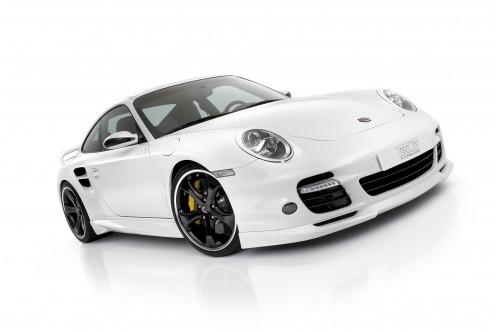 TechArt Przedni spoiler 911 997 Turbo