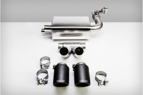 TechArt Sportowy układ wydechowy z klapami Boxster / Cayman 718