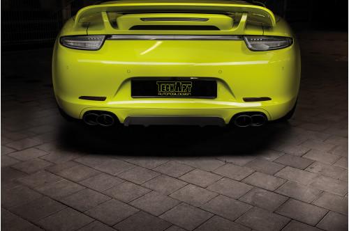 TechArt Sportowy układ wydechowy z klapami 911 991