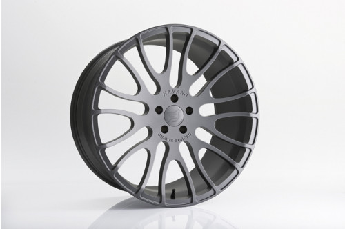 "Hamann Felga Unique Forged Gunmetal 23"" Cayenne 958"