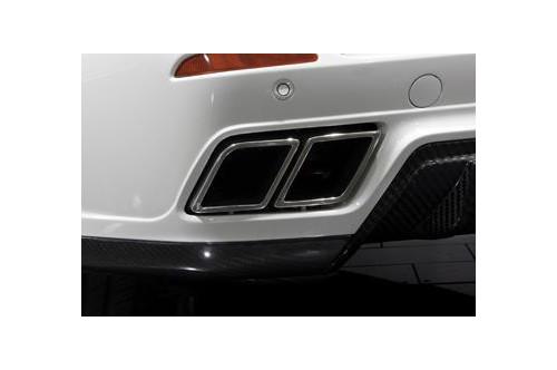 Mansory Sportowy tłumik tylny X6 E71