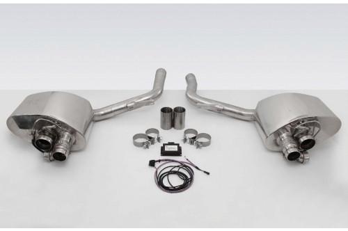 TechArt Sportowy układ wydechowy z klapami Panamera 970 2014