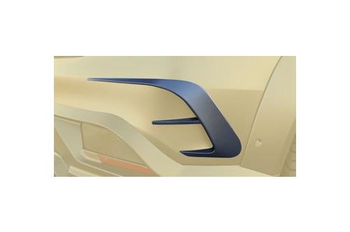 Mansory Wyloty powietrza w zderzaku GLE Coupe C292