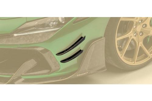Mansory Przednie splittery F8 Tributo / Spider