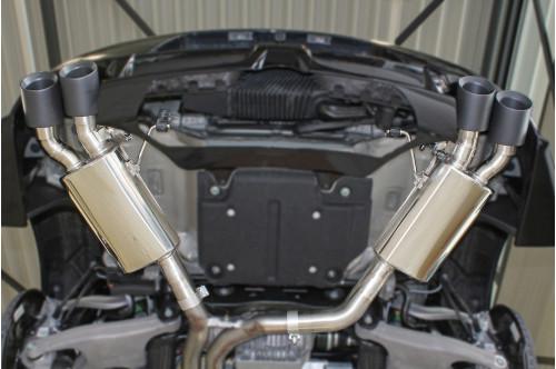 Hamann Sportowy układ wydechowy z klapami Macan Turbo