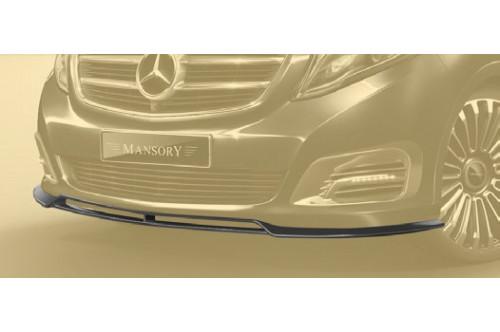 Mansory Przedni spoiler V W447