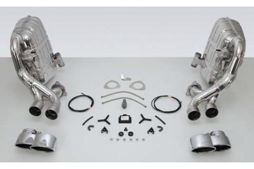 TechArt Sportowy układ wydechowy klapami 911 997 Turbo i GT2