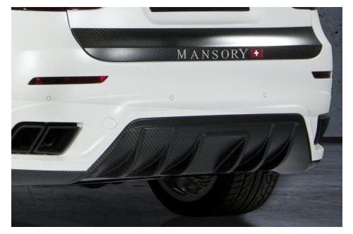 Mansory Tylny zderzak X6 E71