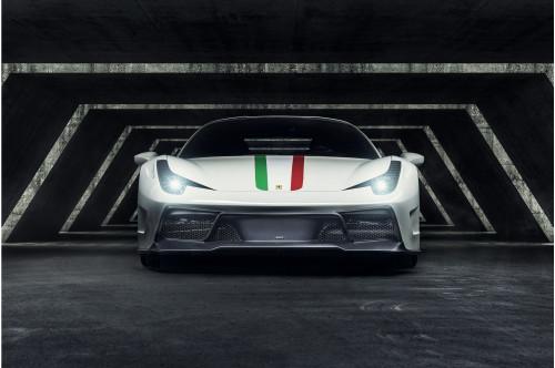 Vorsteiner Przedni zderzak 458 Italia