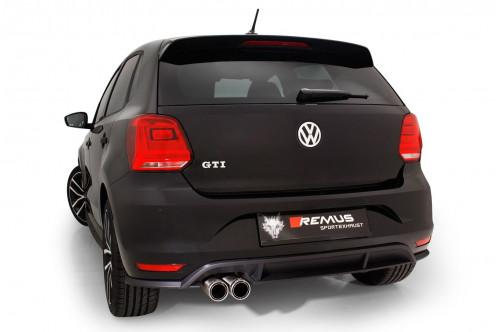 Remus Sportowy układ wydechowy z klapami Polo V GTI