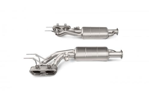 Akrapovic Sportowy układ wydechowy z klapami G W463