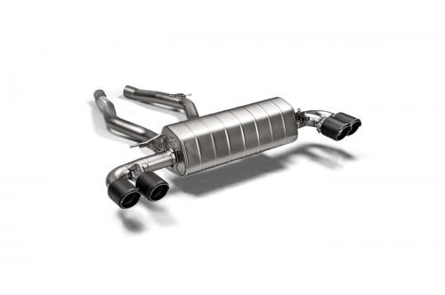 Akrapovic Sportowy układ wydechowy z klapami Z4 M40i G29