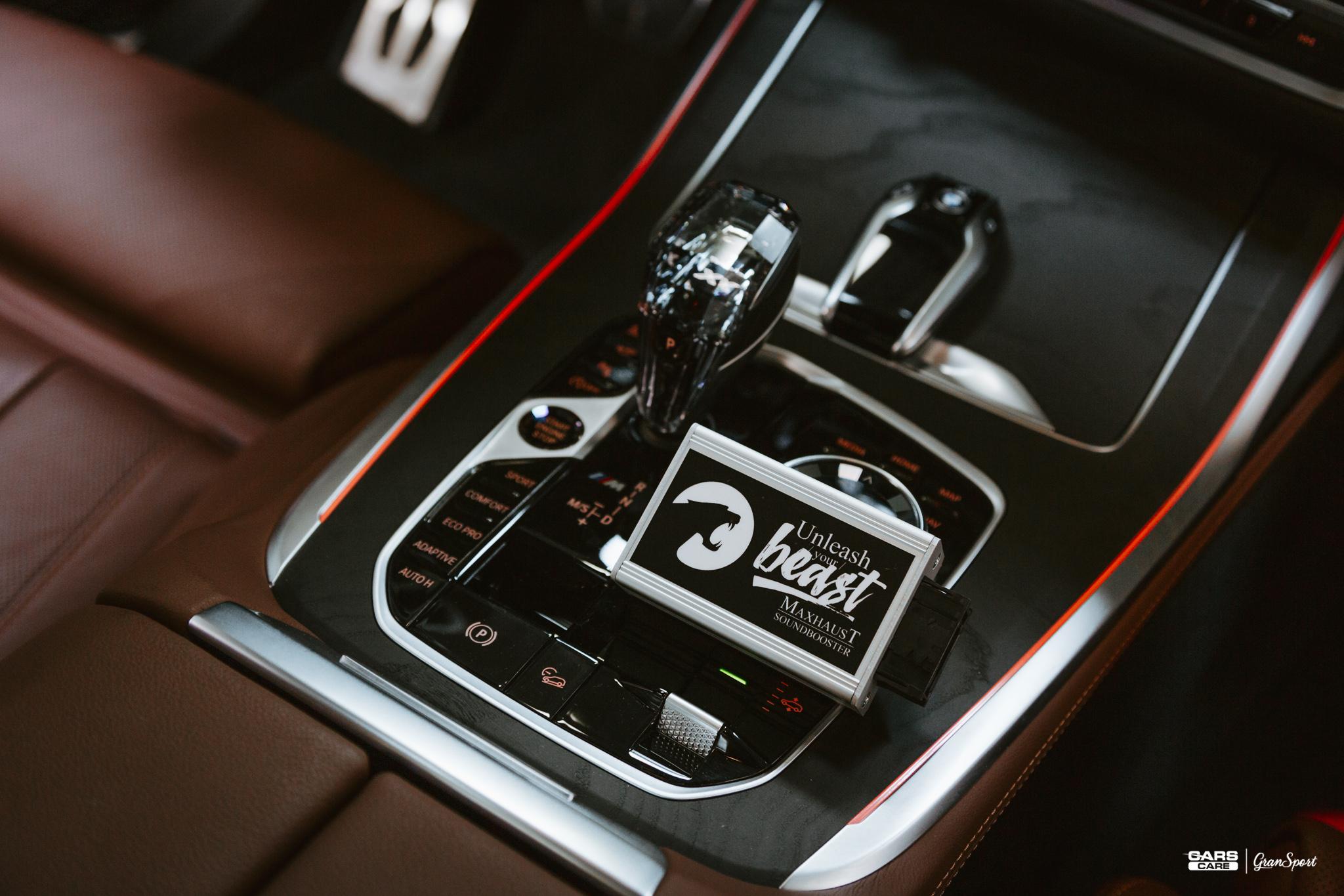 BMW X7 M50d Maxhaust
